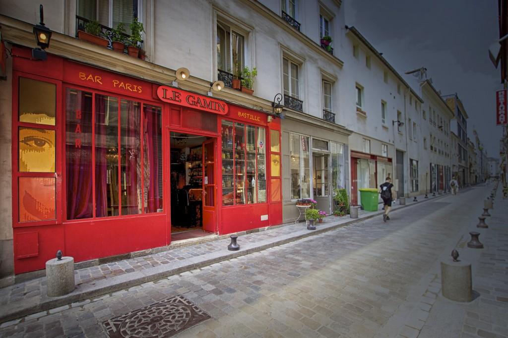 Devanture photo prise dans la rue de Lappe